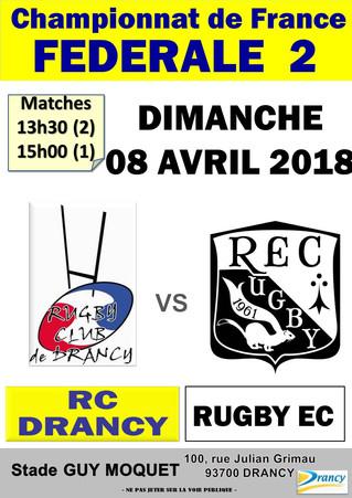 Match CHARTRES vs RC DRANCY  !