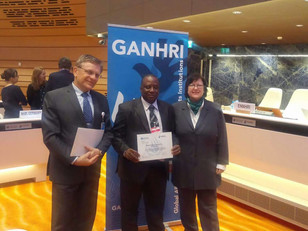 In Geneva: Sierra Leone Human Rights Commission receives A-status certificate