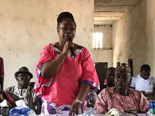 'We want a woman as president of Sierra Leone', says activist