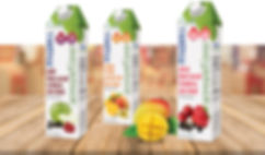 Pinehill Sensations Juice Packaging Design