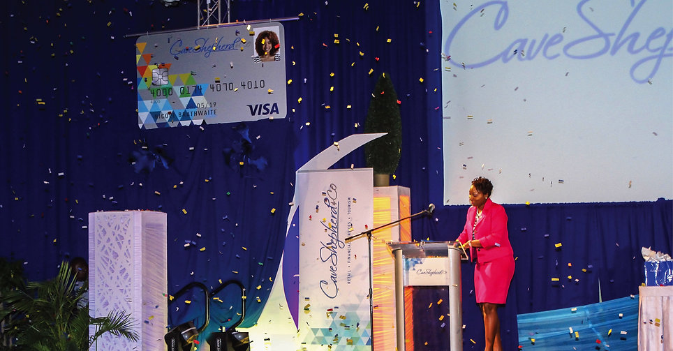CS & Co Visa Card Launch Barbados
