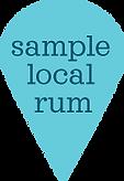 Sample Local Rum Map Pin
