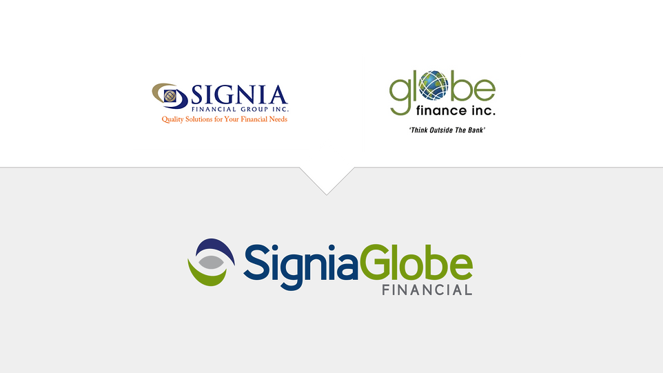 Signa Financial merge wit Globe Financ