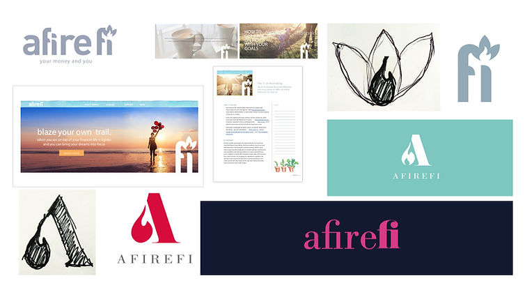 Afirefi Logo develoment process