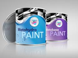 Automotive Art Paint Cans