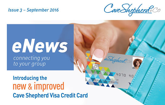 Cave Shepherd & Co Ltd introducing the New Visa Card