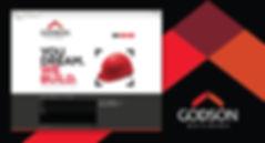 Godson Builders Logo and Website Design