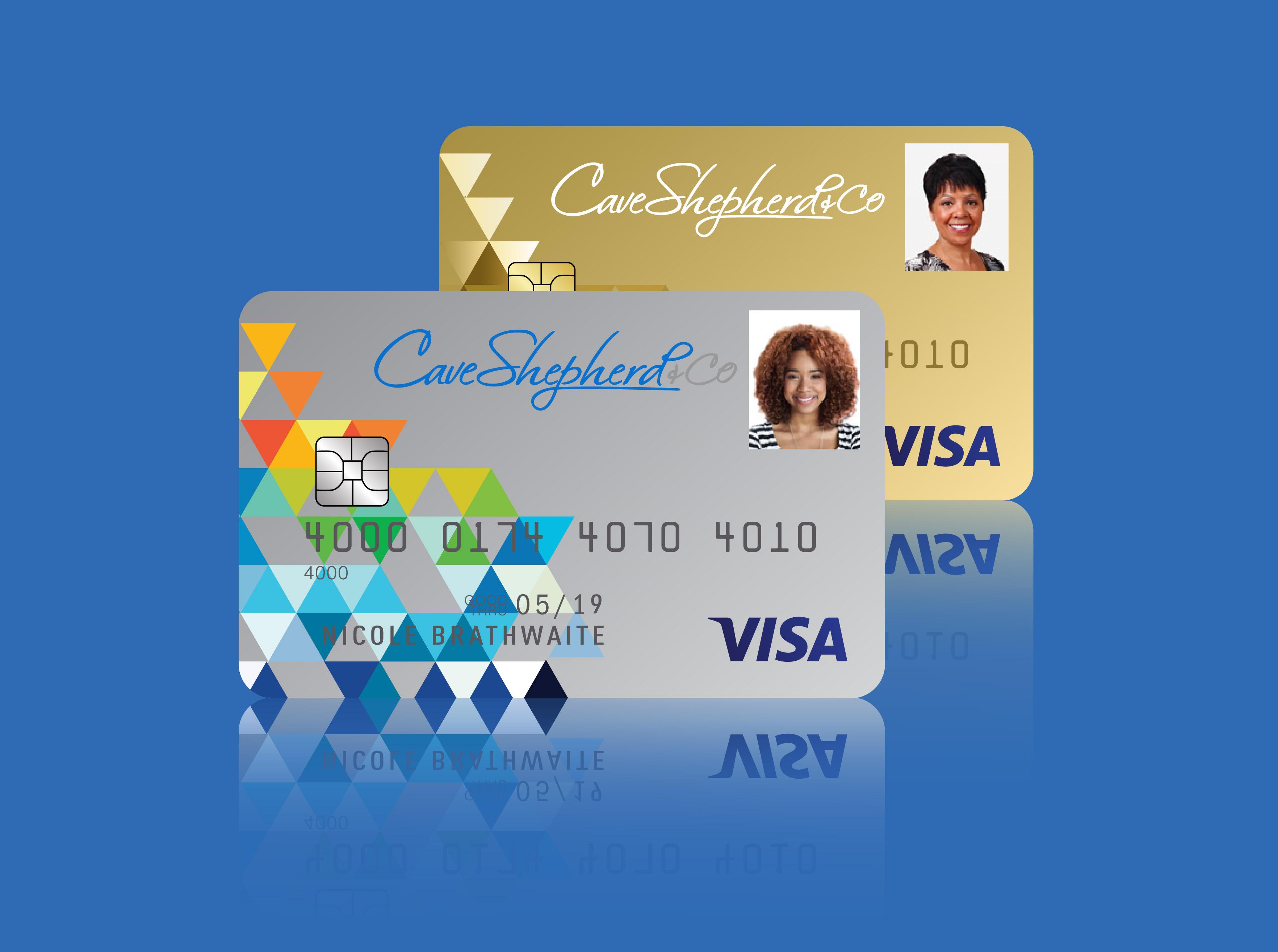 Cave Shepherd Visa Card