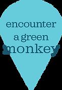 Encounter a gree monkey map pin