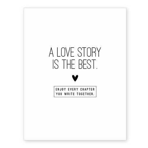 A LOVE STORY IS THE BEST