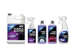 Automotive Art Purple Buster