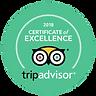 Trip Advisory 2018 badge