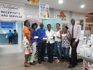 Winners From The Cave Shepherd Visa Credit Card Swipe & Win Promotion