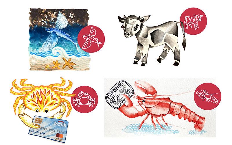 Afirefi Illustrations and Icons by Designers Coast