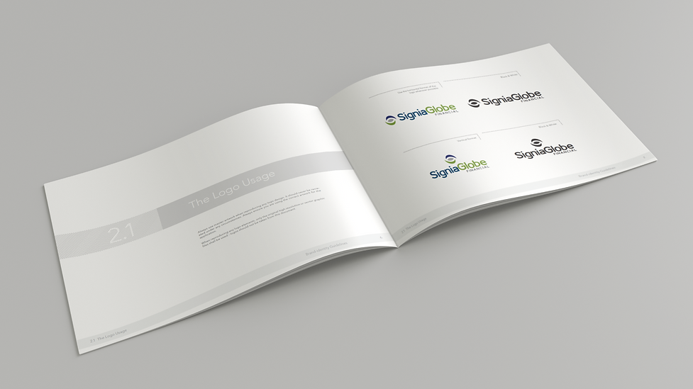 SigniaGlobe Brand Development by Designers Coast