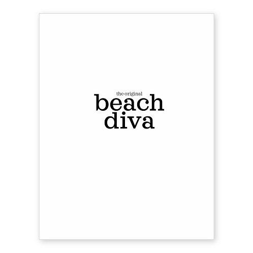THE ORIGINAL BEACH DIVA