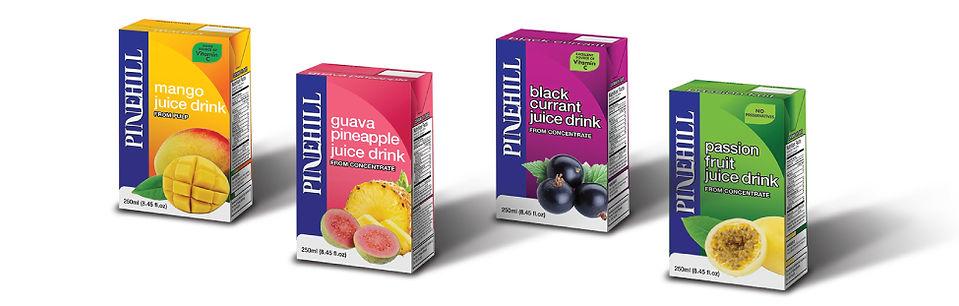 Pinehill Diary Barbados Juice Box Design, Tetra Pack