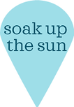 soak up the sun in barbados map pin