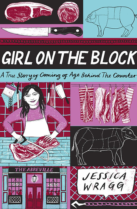Girl on the block book cover