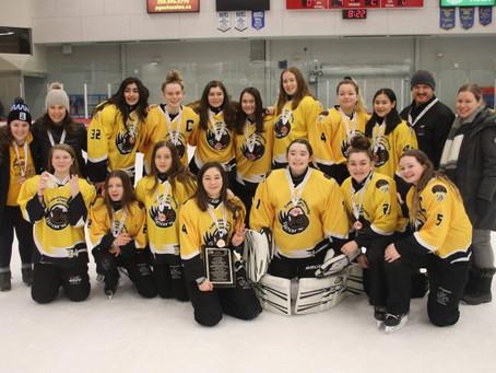 U16A Kodiaks win bronze at Provincials!