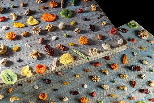 Still Life Dry fruit Mahane Yehuda Market, 2020