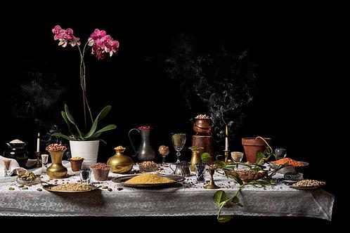 Still Life Legumes,  Mahane Yehuda Market, 2020