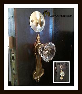 Old mortise lock repair Murray Ave Locks