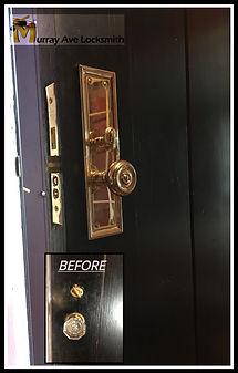 Baldwin lock change Murray ave locksmith