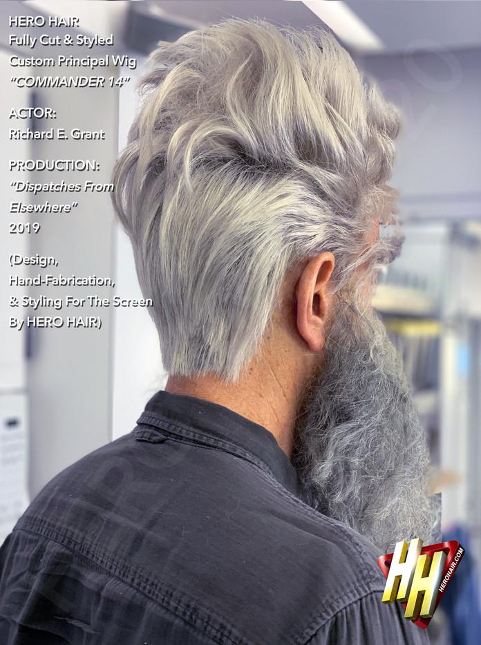 Fully Cut & Styled Custom Wig_Commander