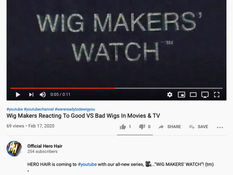 Wig Makers Reacting To Good VS Bad Wigs In Movies & TV
