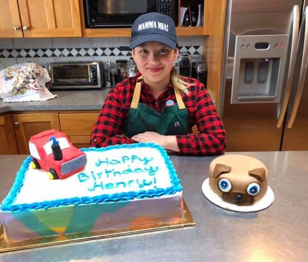 Birthday Cake and Smash Cake