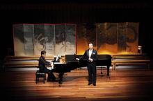 歌手花月真オペラ コンサート  舞台美術