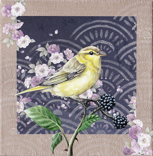 'Washi Bird' - Warbler