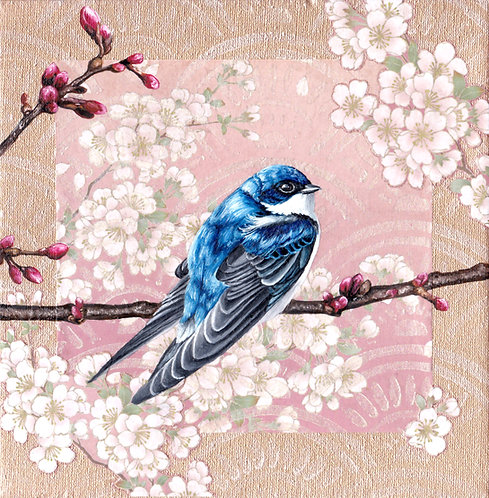 'Washi Bird' - Swallow