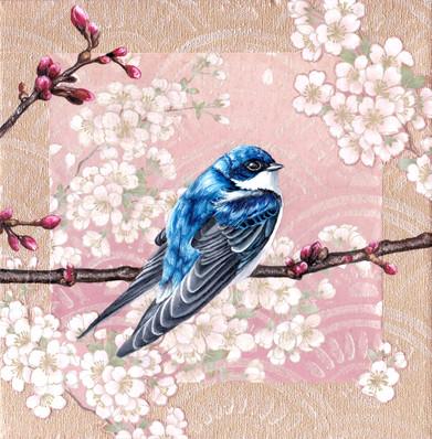 Washi Bird - House Martin