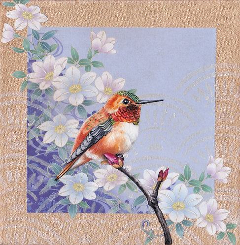 'Washi Bird' - Hummingbird