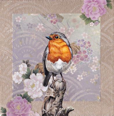 Washi Bird - Robin