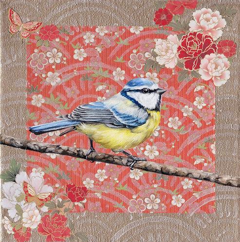 'Washi Bird' - Blue Tit