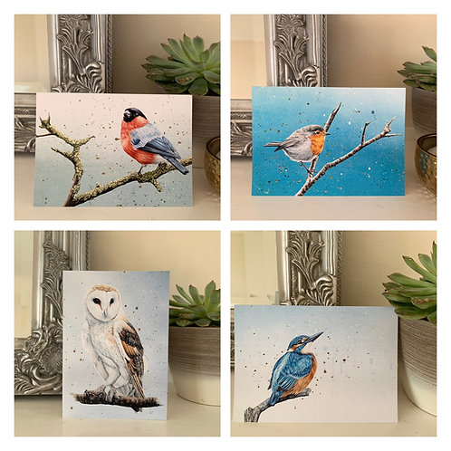 Art Cards Set of 4