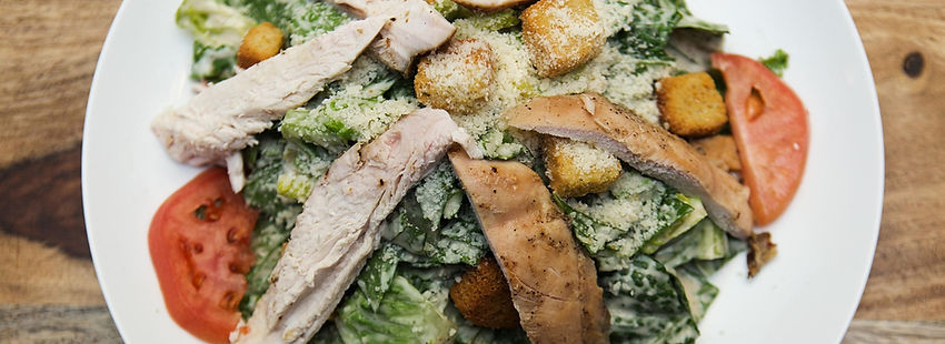 Freshly Made Caesar Salad from Chicken Rico