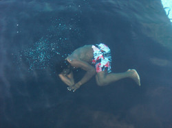 "Underwater filming ""Jamaa the movie"""