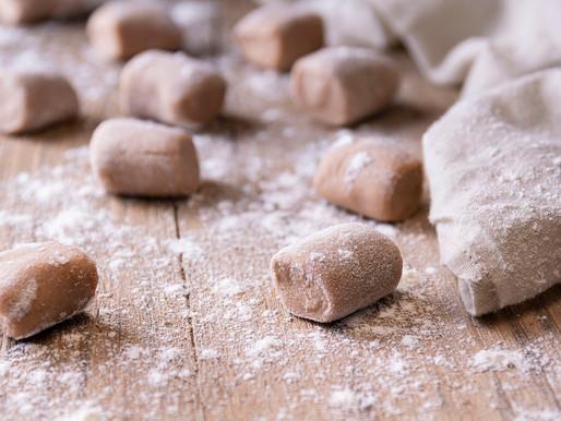 Gnocchetti di farina di castagne con taleggio e noci