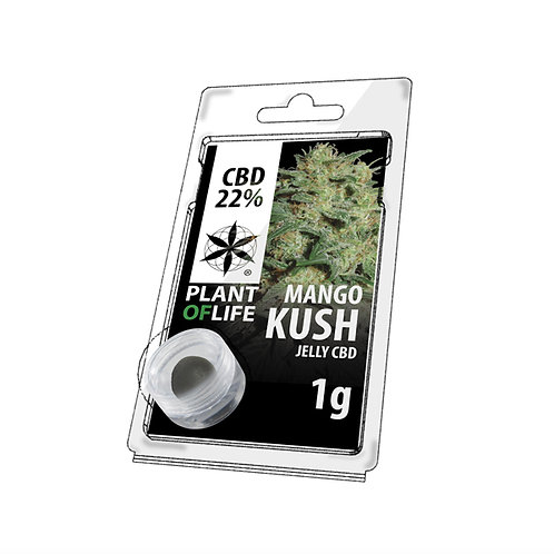 Mango Kush Jelly Hash   ~ 22% CBD