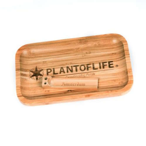 Bamboo Rolling Tray ~ small.