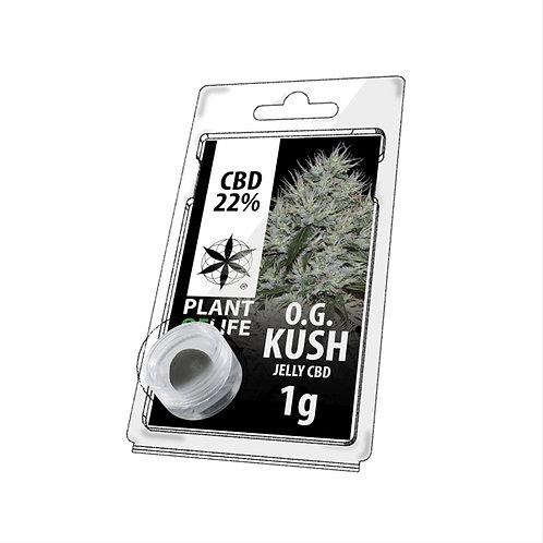 OG Kush 1G - 22%CBD Jelly Hash
