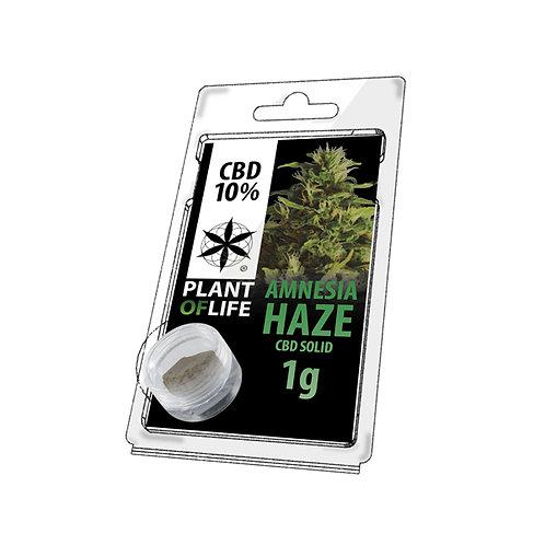 Amnesia haze CBD hash 10% 1 gram