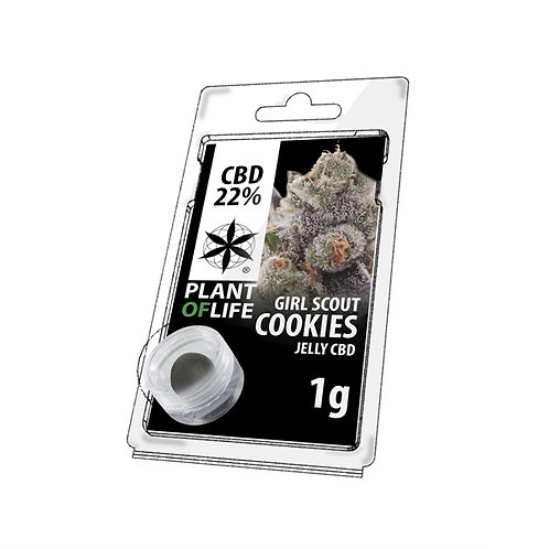 Girl Scout Cookies CBD Jelly 22%