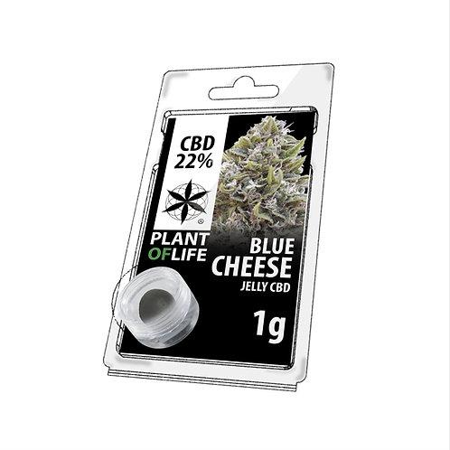 Blue cheese jelly hash 1G  ~ 22% CBD