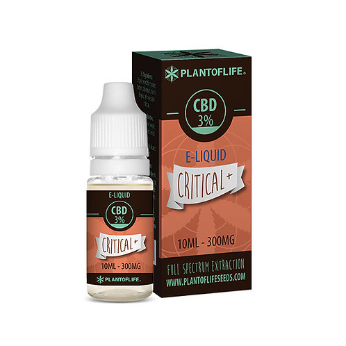 CRITICAL+ VAPE OIL  ~ 3% CBD 300mg
