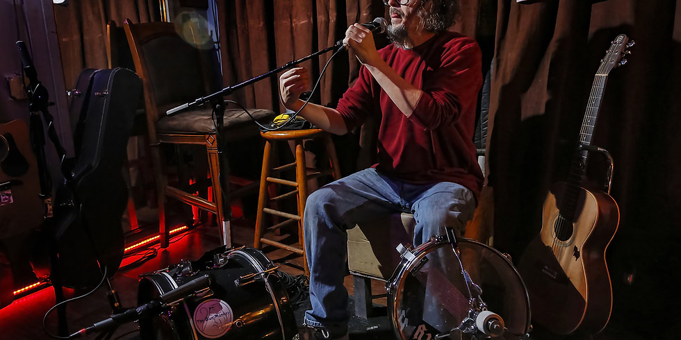 Mike Hosty at Auntie Mae's Parlor